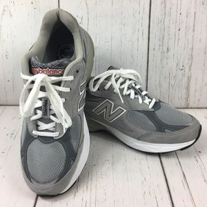 NEW BALANCE USA Grey Classic OG Shoes 10.5 2E Wide